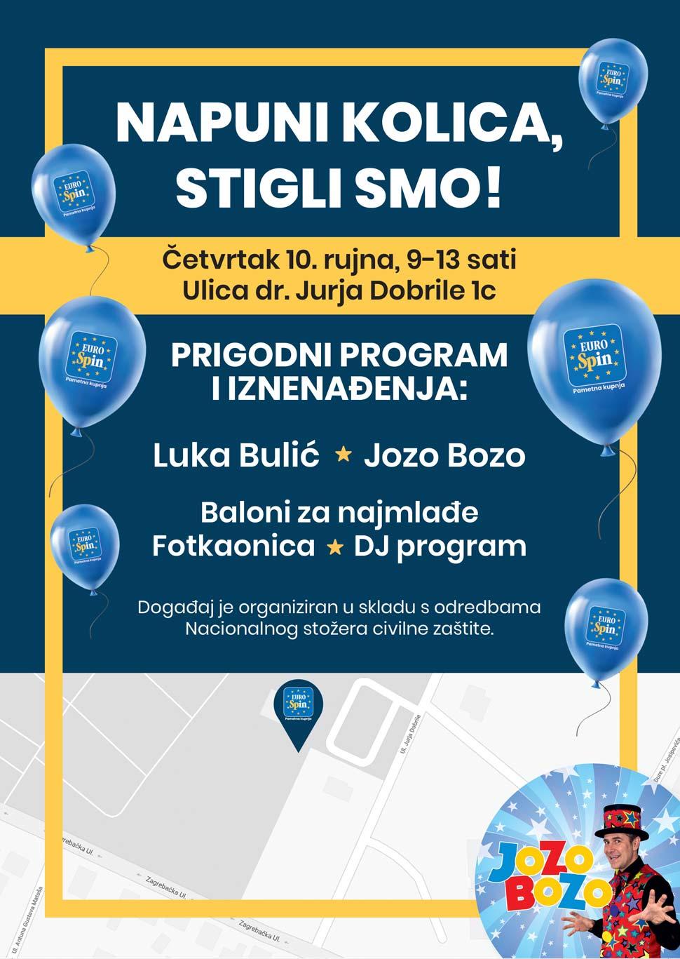 Eurospin otvorenje u Velikoj Gorici